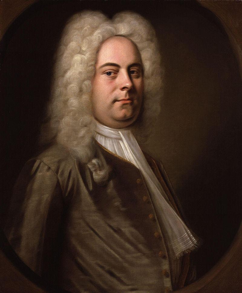 GF Handel (1685-1759), partimento composer.