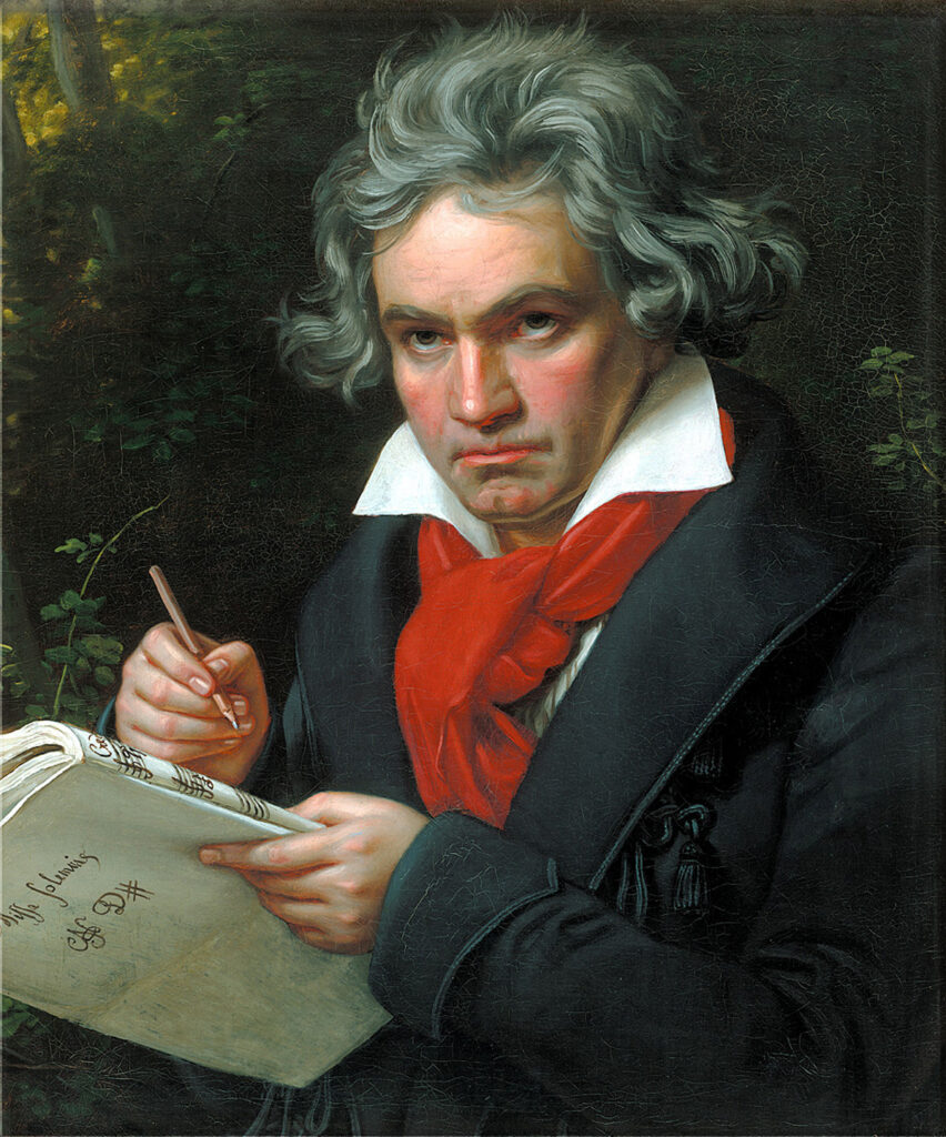 Ludwig van Beethoven (1770-1827), partimento composer.