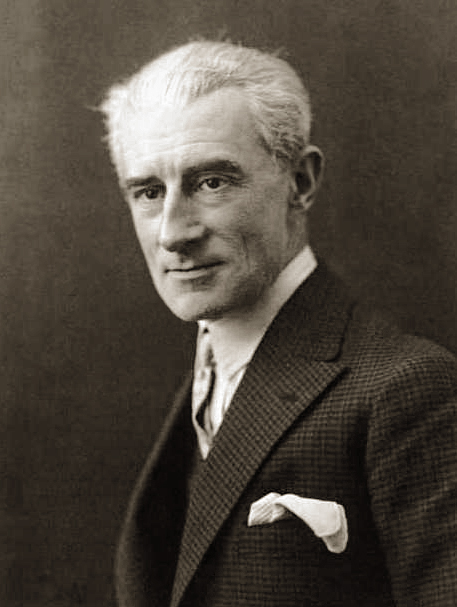 Maurice Ravel(1875-1937), partimento composer.