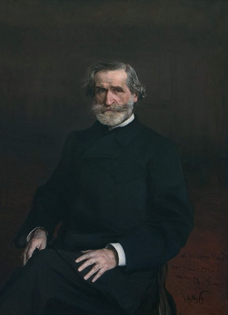 Giuseppe Verdi (1813-1901), partimento composer.